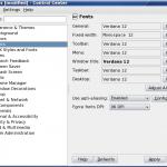 Configure Fonts